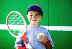 Ребенок увлекающийся спортом