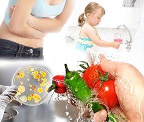 Чистые руки и овощи